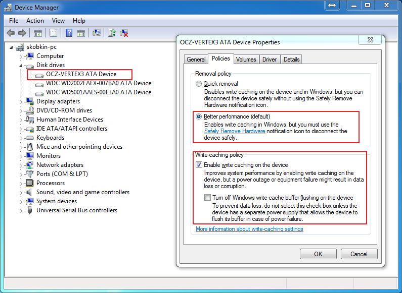 Настройка и оптимизация Windows 7 и Windows 8 под SSD. Alexey Skobk.in
